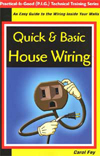 Quick & Basic House Wiring - easy training manual